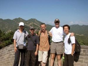 IMG_0916 Master Zheng, Mike, Jeff, Doug & Rene 8-13-07sm