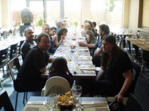And after the last workshop we had chinese diner together…